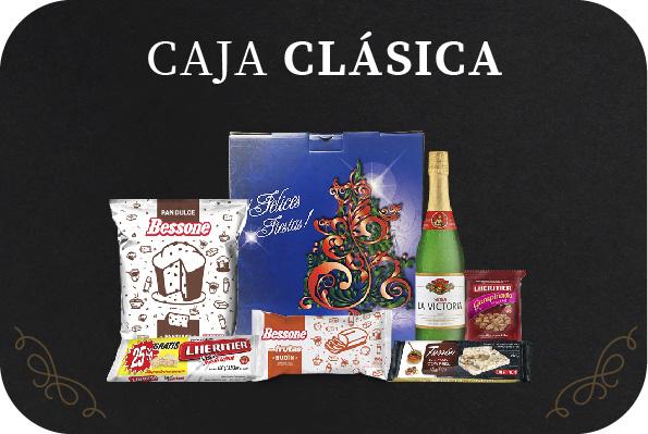 Caja de Navidad Clasica